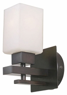 EGLO 20452A Violetta 8 Inch Tall Oil Rubbed Bronze Wall Sconce Lighting