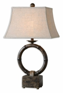 Uttermost 27368 Monson 19 Inch Wide Bamboo Ring Table Lighting