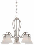 Quoizel SPH5105BN Sophia 5 Light Medium Nickel Finish Dining Chandelier