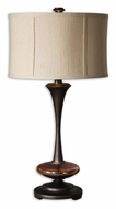 Uttermost 26426-1 Lahela 30 Inch Tall Distressed Copper Bronze Transitional Table Lighting