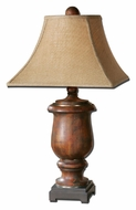 Uttermost 26538 Kezia 33 Inch Tall Cinnamon Wood Table Light