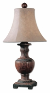 Uttermost 27090 Woodman 33 Inch Tall Weathered Wood Table Lighting