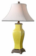 Uttermost 27496 Molvena 34 Inch Tall Shaped Ceramic Table Lamp Lighting