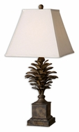 Uttermost 27667 Suzuha Burnished 32 Inch Tall Tropical Table Lamp