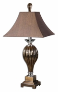 Uttermost 26734 Omari 36 Inch Tall Metallic Bronze Finish Ceramic Lamp