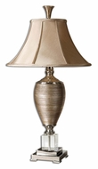 Uttermost 26738 Abriella 32 Inch Tall Metallic Gold Transitional Table Lamp