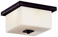 Kichler 49343AZ Bowen Contemporary Outdoor Lighting Ceiling