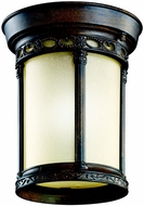 Kichler 49023BST Corunna Brown Stone Incandescent Outdoor Ceiling Fixture