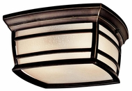 Kichler 49277RZ McAdams Exterior Flush Mount Ceiling Light