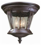 World Imports 7426489 Northampton Traditional Style Outdoor Flush-Mount Ceiling Light