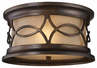 ELK 419992 Burlington Junction Traditional Outdoor Flush Mount Ceiling Light