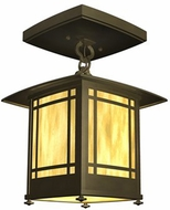 American Fluorescent EUF126MBSCT Eureka Energy Star Outdoor Flush-Mount