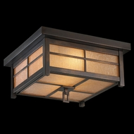 Fine Art Lamps 401080 Capistrano 9 inch outdoor flush mount in bronze patina