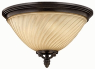 Hinkley 1253RB San Mateo 3 Light Outdoor Flushmount Ceiling Fixture