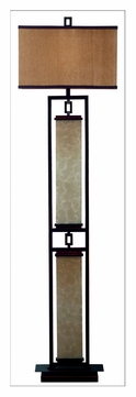 Kenroy Home 30742orb Plateau Transitional Style 61 Inch Tall Oil Rubbed Bronze Floor Light Ken