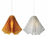 LBL HS587 Ariana Crystal Bead Mini Pendant Light
