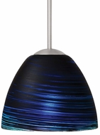 LBL Black Mini Reflex Halogen Mini Pendant