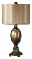 Uttermost 27445-1 Fresonara 29 Inch Tall Metallic Bronze Transitional Table Lighting