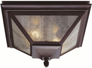 Feiss OL1013-ORB Homestead 2-light 7.75 inch Outside Flush mount Lamp in Oil Rubbed Bronze