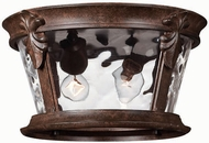 Hinkley 1893RK Windsor 2 Light Outdoor Flushmount Ceiling Fixture