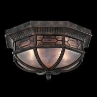 Fine Art Lamps 414882 Devonshire 9 inch outdoor flush mount in Marbella wrought iron