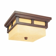 Troy CF3080cb Cottage Grove Fluorescent Exterior 13 Inch Diameter Ceiling Lighting Fixture