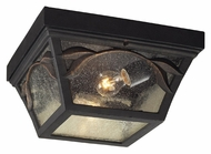 ELK 42046/2 Hamilton Park Outdoor 13 Inch Diameter 2 Lamp Flush Lighting Fixture