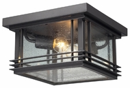 ELK 42306/2 Blackwell Graphite Flush Mount 11 Inch Wide Ceiling Light