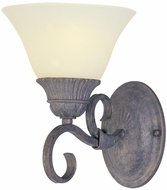 Maxim 8030-SVCR Canyon Rim Traditional 1 Light Wall Sconce