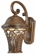 Quoizel RH8409MU Richmond Medium 18 Inch Tall Museum Bronze Transitional Outdoor Wall Lighting