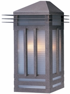 Maxim 8724PRBU Gatsby 22 inch Outdoor Stainless Steel Wall Sconce