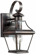 Quoizel CAR8406AC Carleton 11.5 inches tall outdoor lighting wall fixture in aged copper