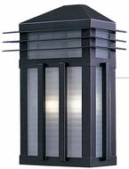 Maxim 8723PRBU Gatsby 13.5 inch Outdoor Stainless Steel Wall Sconce