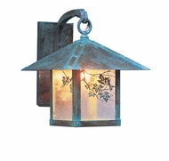 Arroyo Craftsman EB-9 Evergreen Craftsman Outdoor Wall Sconce - 12.875 inches tall