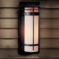 Hubbardton Forge 30-5994 Banded Outdoor Large Top Plate Sconce