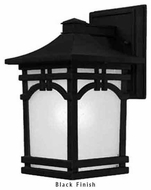 Artcraft AC8051 Courtyard Small Craftsman Outdoor Wall Sconce