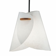 Justice Design 8548 Domus Iris Beech Wood Oriental Ceiling Light