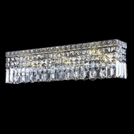 Elegant 2032W26C-RC Maxim Small 26  Crystal Vanity Light Fixture