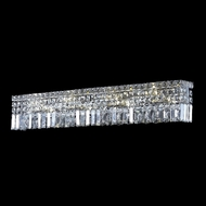 Elegant 2032W30C-RC Maxim Medium 7-lamp Clear Crystal Vanity Lighting