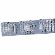 ET2 E2325320PC Bangle 3-light Crystal Bathroom Vanity