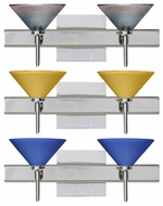 Besa Kona 2-light Contemporary Vanity Fixture