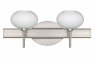 Besa 2SW561207 Lasso Contemporary 2-light Vanity Light Fixture