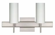 Besa 2SR440307 Copa Contemporary 2-light Bathroom Vanity Lighting