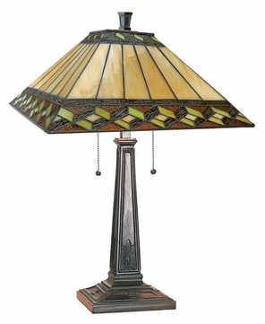 Lite Source LS21767 Inglenook II Antique Bronze Finish 24