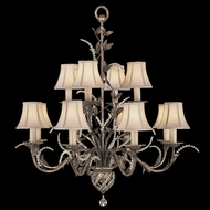Fine Art Lamps 138540 A Midsummer Night's Dream Large Classic 12-light Chandelier with Crystal Strands