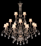 Fine Art Lamps 136740 A Midsummer Night's Dream Extra Large 16-lamp Crystal Chandelier with Shades