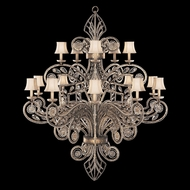 Fine Art Lamps 163940 A Midsummer Night's Dream Extra Large 15-lamp Crystal Chandelier Light