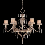 Fine Art Lamps 407040 Pastiche 6-light Crystal Traditional Chandelier Lighting