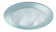 Liton LR1317 3 Inch Low Voltage Fluorescent Downlight Modern Recessed Reflector with Flat Frosted Lens Trim
