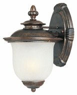 Maxim 86293FCCH Cambria EE 10 Inch Tall Chocolate Small Traditional Outdoor Wall Light Fixture